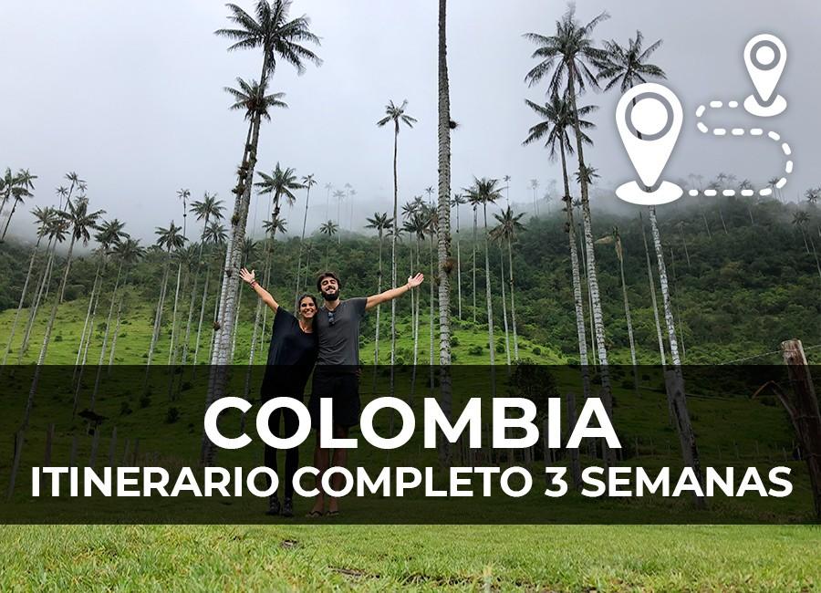 colombia ruta 3 semanas