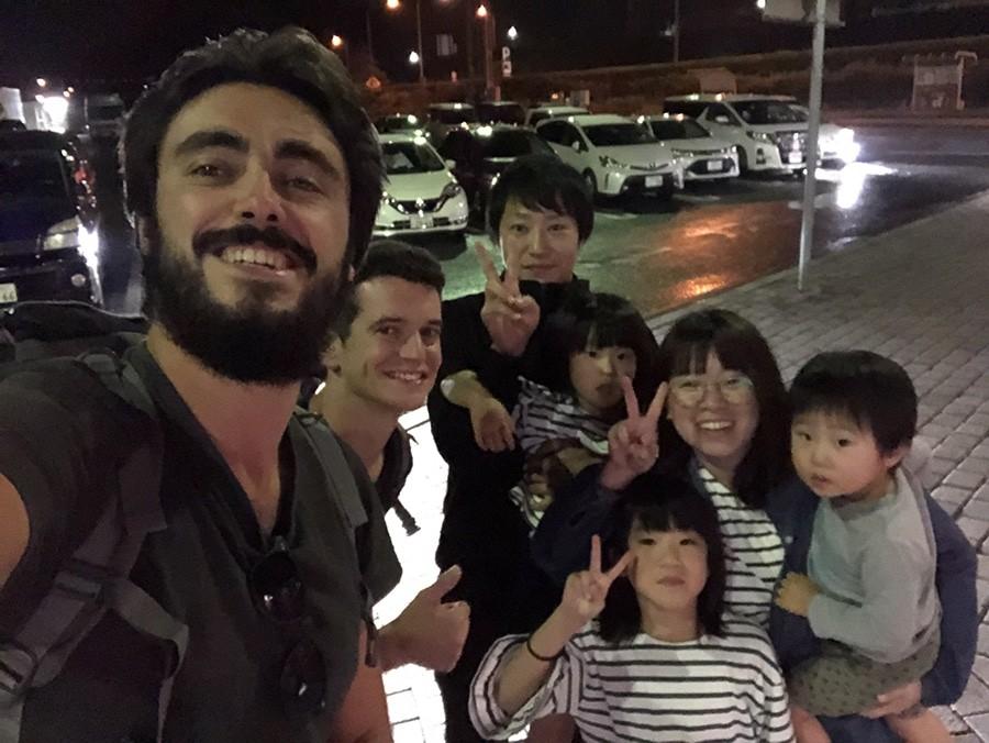 autostop en japón
