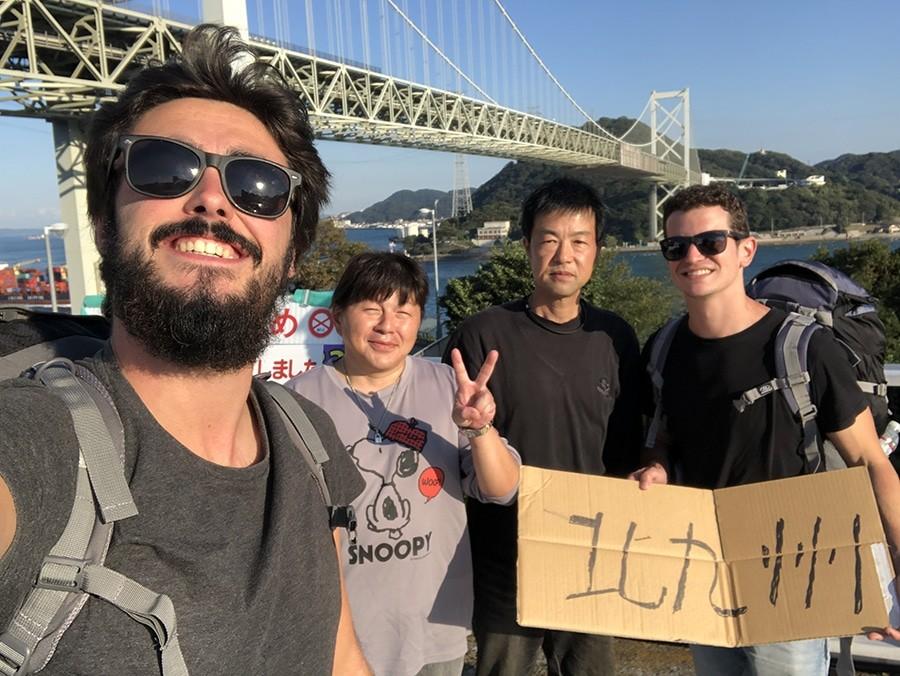 ultimo autostop en japón
