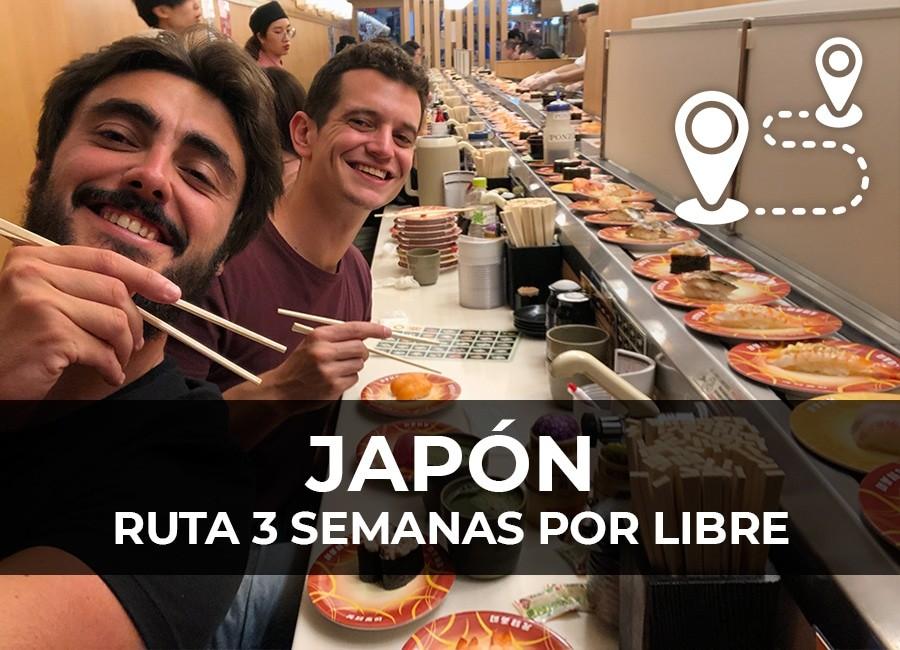 ruta por japon 3 semanas