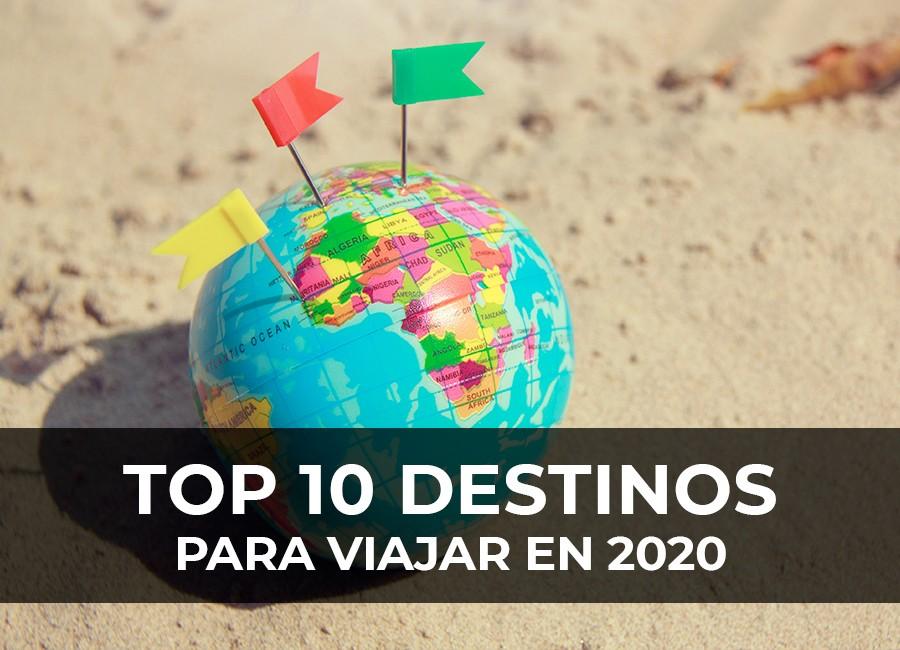 mejores destinos 2020