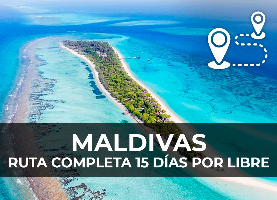 maldivas ruta 15 dias barato