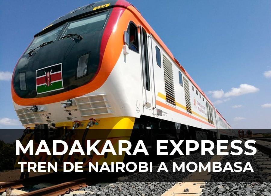 tren de nairobi a mombasa madakara express