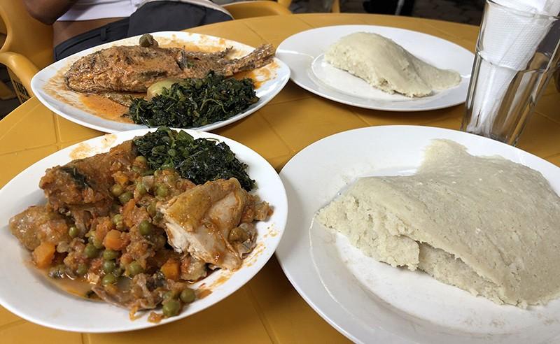 comer en arusha
